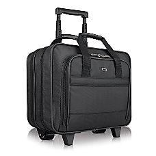 Solo Carnegie 156 Rolling Case Black