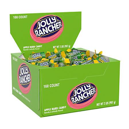 Jolly Rancher Twist Hard Candies, Apple, Box Of 160