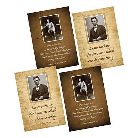 "Barker Creek Poster Pack, 19"" x 13 1/4"", Presidential, Set Of 2"