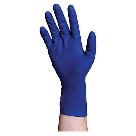 DiversaMed ProGuard High-Risk EMS Exam Gloves, Large, Blue, Box Of 50