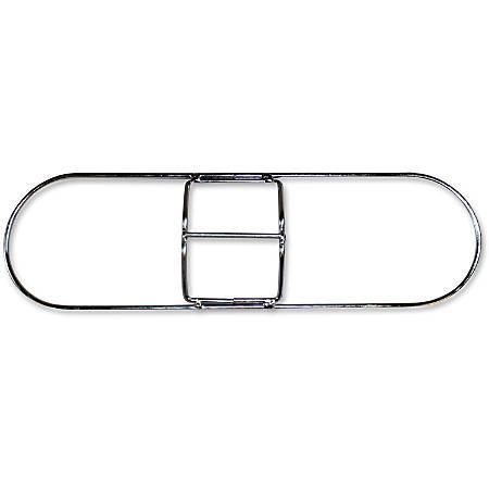 Genuine Joe Clip-on Long Dust Mop Frame - Rust Resistant, Clip, Galvanized - Metallic