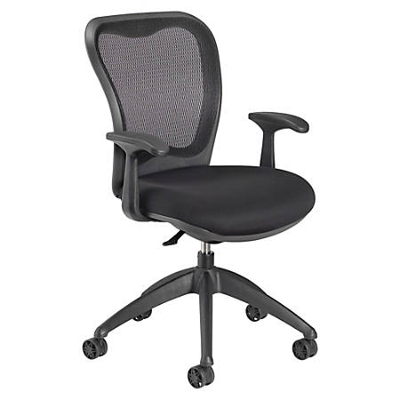 Nightingale MXO Mid-Back Task Chair, Black