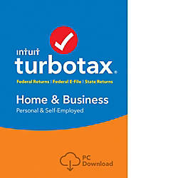 TurboTax Home Bus FedEfileState 2017 Windows