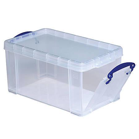really useful box plastic storage box 8 liters 13 14 x 7 34 x 6 34