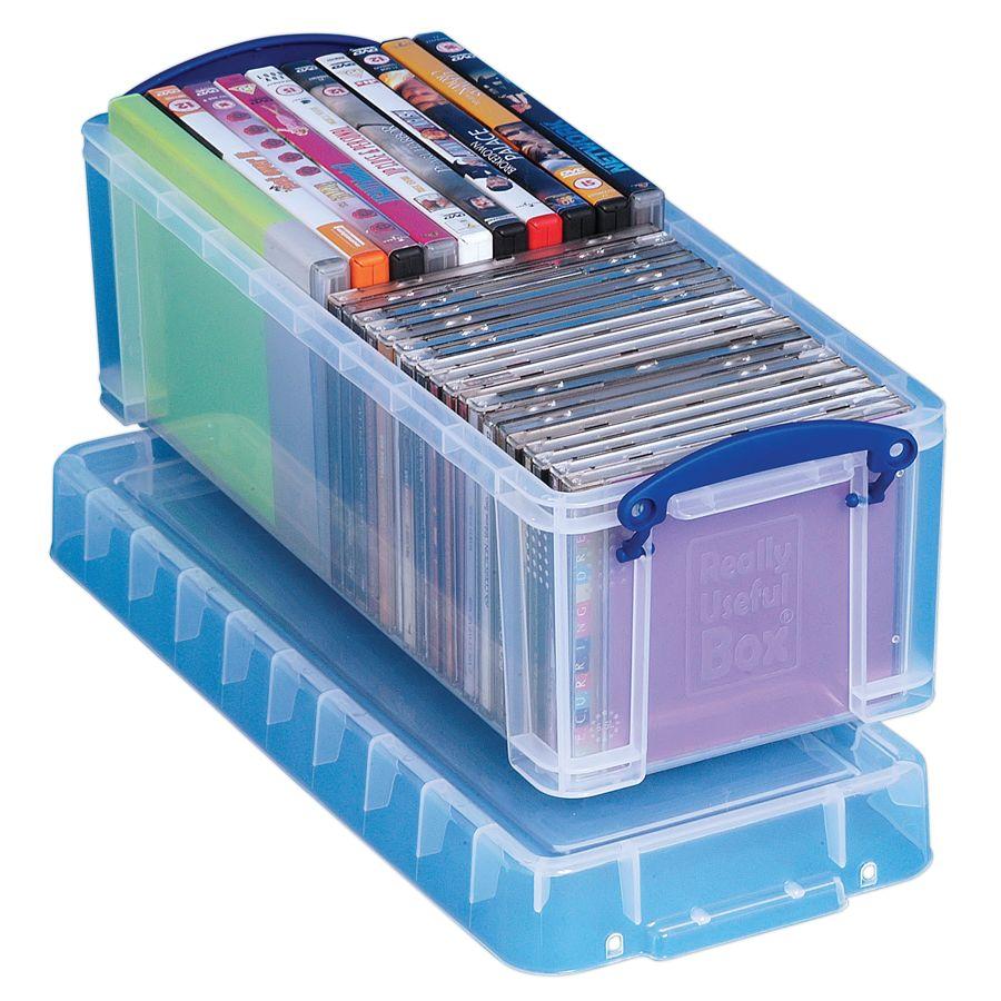 Really Useful Box Plastic Storage Box 6.5 Liters 17 12 x 7 x 6 14 Clear by Office Depot u0026 OfficeMax  sc 1 st  Office Depot & Really Useful Box Plastic Storage Box 6.5 Liters 17 12 x 7 x 6 14 ...