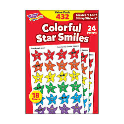 Trend Stinky Stickers Smiley Stars Pack