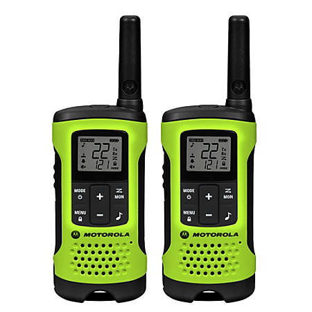 Motorola Talkabout T600 H2O Two-Way Radio, Green