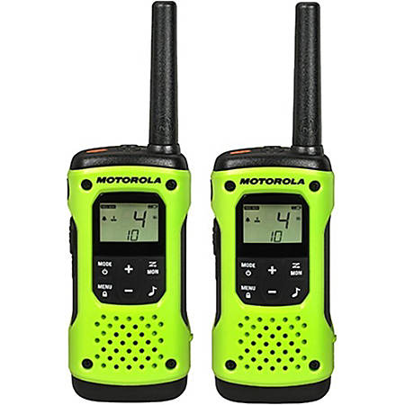 Motorola Talkabout T600 H2O Two-way Radio - 22 Radio Channels - 22 x  GMRS/FRS, UHF - Upto 184800 ft - Auto Squelch, Hands-free, Keypad Lock,  Timer -