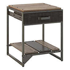 Bush Furniture Refinery End Table With