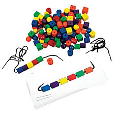 Learning Resources Beads And Pattern Card
