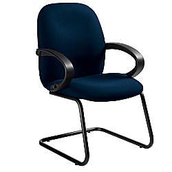 Global Enterprise Fabric Guest Chair Navy