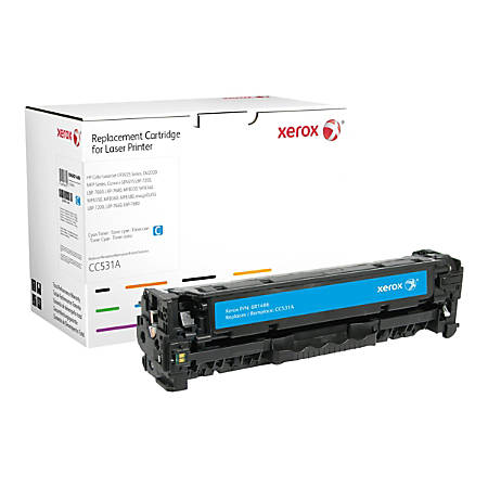 Xerox - Cyan - toner cartridge (alternative for: HP CC531A) - for HP Color LaserJet CM2320fxi, CM2320n, CM2320nf, CP2025, CP2025dn, CP2025n, CP2025x