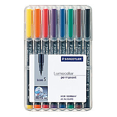 Staedtler Mars Lumocolor 80percent Recycled Permanent
