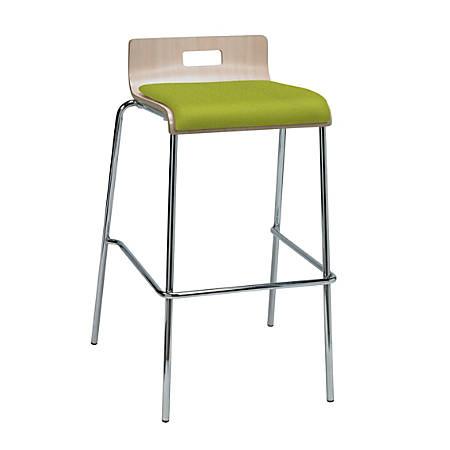 Super Kfi Studios Jive Low Back Bar Stool Avocado Natural Item 4528143 Machost Co Dining Chair Design Ideas Machostcouk