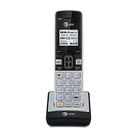 AT&T TL86003 DECT 6.0 Expansion Cordless Handset For AT&T TL86103 Expandable Phone System