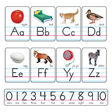 TREND Alphabet Line Bulletin Board Set