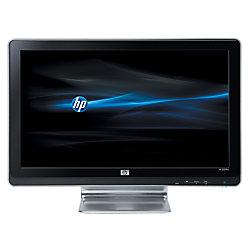 "HP 2009m 20"" Widescreen Digital/Analog LCD Monitor, Black/Silver"