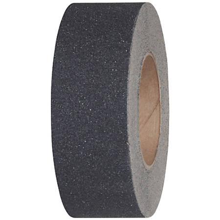 """Tape Logic® Antislip Tape, 3"""" Core, 1"""" x 60', Black"""