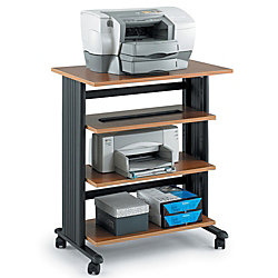 Safco Muv Printer Stand 4 Levels 35 1 16 H