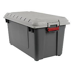 Office Depot Brand Plastic Storage Trunk