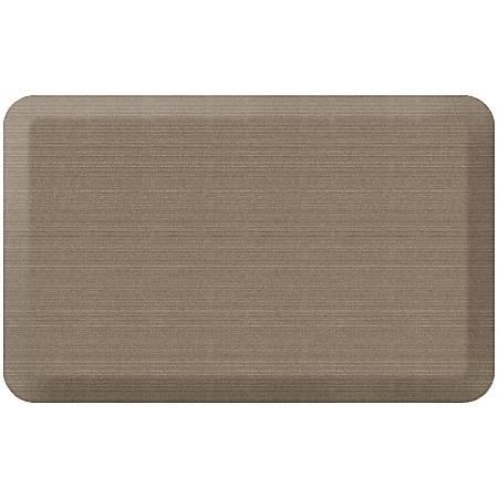 """GelPro NewLife Designer Comfort Grasscloth Anti-Fatigue Floor Mat, 20"""" x 32"""", Pecan"""