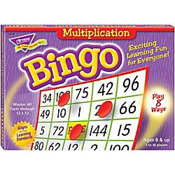 Trend Bingo Game Multiplication