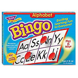 Trend Bingo Game Alphabet
