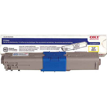 Oki Data (44469719) Yellow Toner
