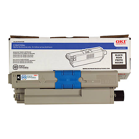 OKI® 44469801 Black Toner Cartridge