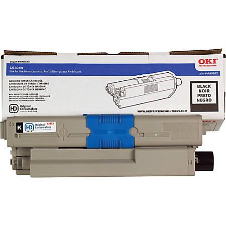 OKI® 44469802 High-Yield Black Toner Cartridge