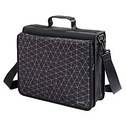 Oxford Zipper Binders 3 Rings Black