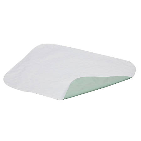 "DMI® Furniture And Bed Protector Pad, 3-Ply Quilted, 36"" x 52"", Green"