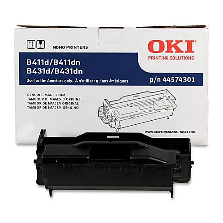 OKI® 44574301 Black Drum