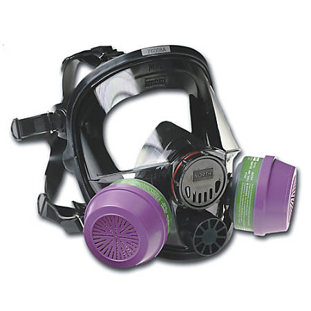 7600 Series Full Facepiece Respirator, Medium-Large