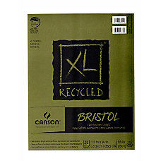 Canson XL Recycled Bristol Pad 11