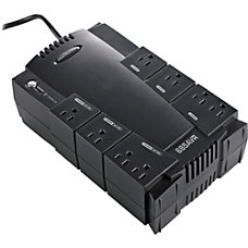 Compucessory AVR 8 Outlet UPS Backup