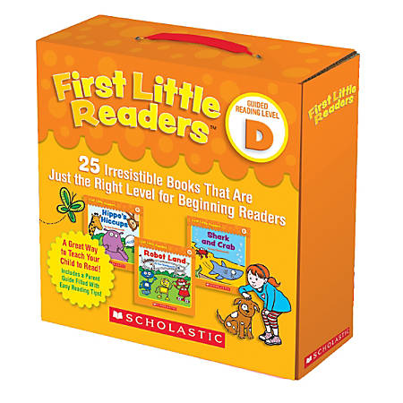 Scholastic Teacher Resources First Little Readers: Guided Reading Parent Pack, Level D, Pre-K To 2nd Grade