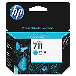 HP 711 Cyan Ink Cartridge CZ130A