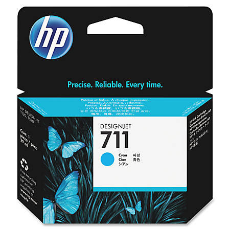 HP 711 Cyan Ink Cartridge (CZ130A)