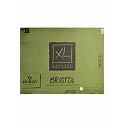 Canson XL Recycled Bristol Pad 19