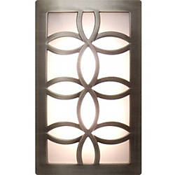 Ge Coverlite Led Auto Onoff Night Light Brushed Nickel Led