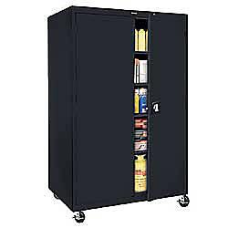 Sandusky Jumbo Mobile Steel Storage Cabinet