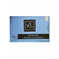 Canson XL Watercolor Pads 12 x