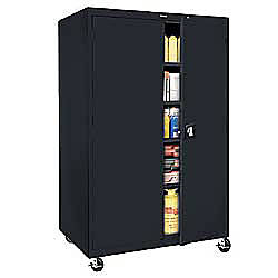 Sandusky Mobile Steel Storage Cabinet 78