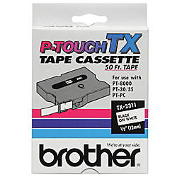 Brother TX 2311 Black On White