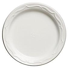 Genpak Aristocrat Plastic Plates 6 White