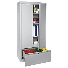 Sandusky Full Height Steel Storage Cabinet
