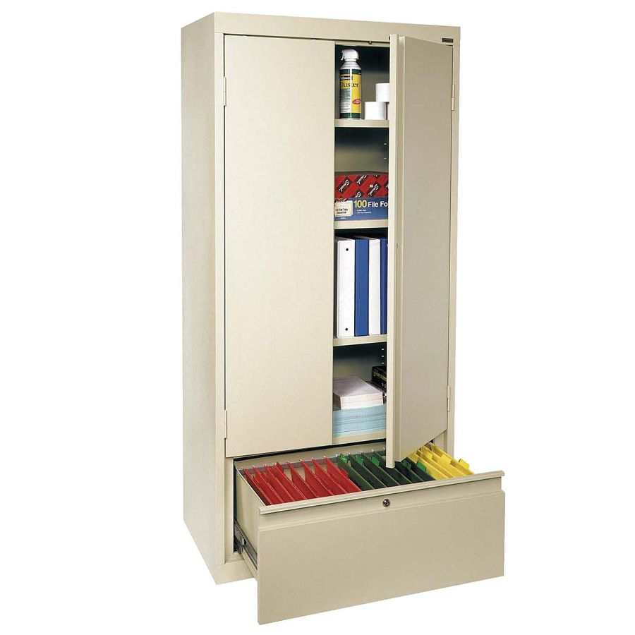Beautiful Sandusky Steel Storage Cabinet