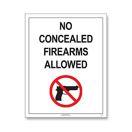 "ComplyRight State Weapons Law Poster, English, Missouri, 11"" x 14"""