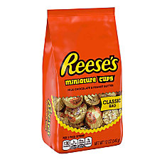 Reeses Peanut Butter Cup Miniatures Stand